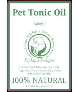 Pet Tonic Oil