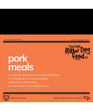 Pork Meals 80/10/10