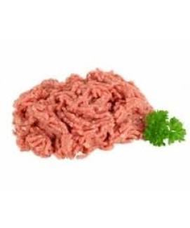Raw Beef & Turkey Mince with approximately